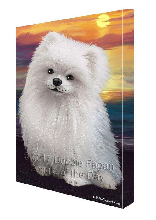 Pomeranians Dog Canvas Wall Art D457
