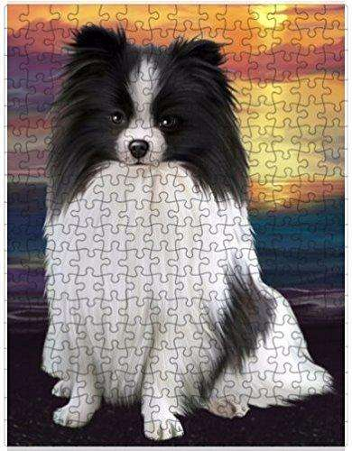 Pomeranians Dog Puzzle with Photo Tin D528