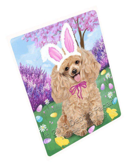 "Poodle Dog Easter Holiday Magnet Mini (3.5"" x 2"") MAG51930 (Mini 3.5"" x 2"")"