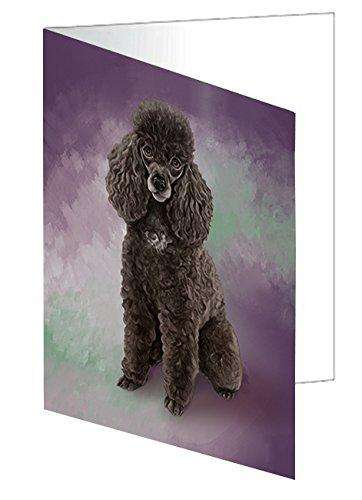 Poodle Dog Note Card NCD48228
