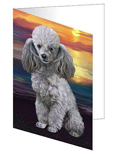 Poodles Dog Greeting Card