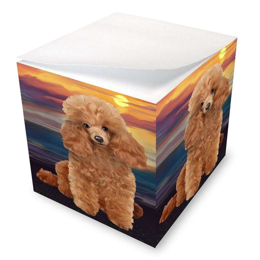 Poodles Dog Note Cube