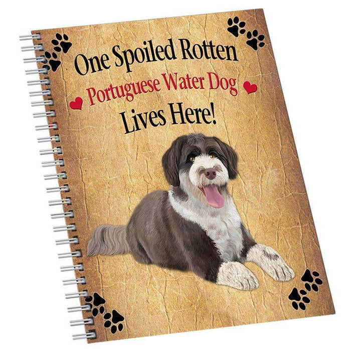 Portuguese Water Spoiled Rotten Dog Notebook