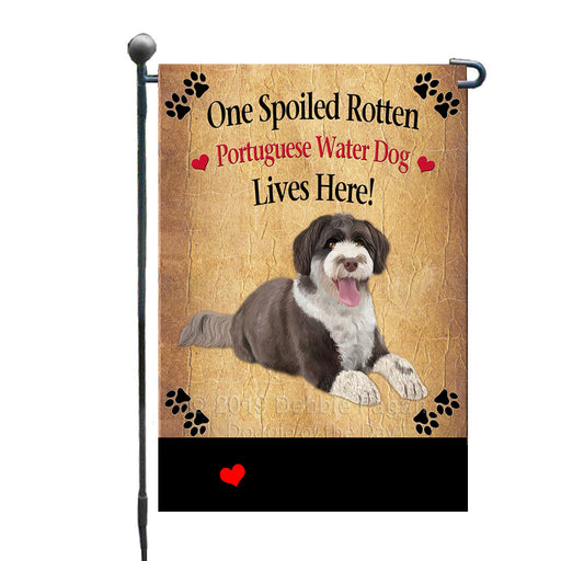 Personalized Spoiled Rotten Portuguese Water Dog GFLG-DOTD-A63241