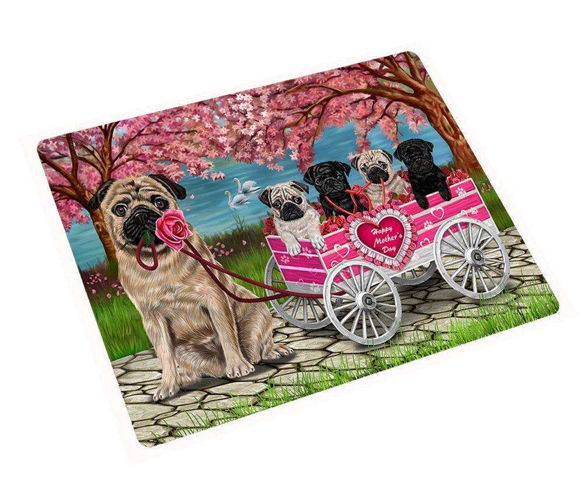 Pug Mother's Day Dog Magnet