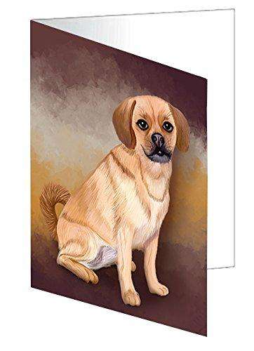 Puggle Dog Greeting Card