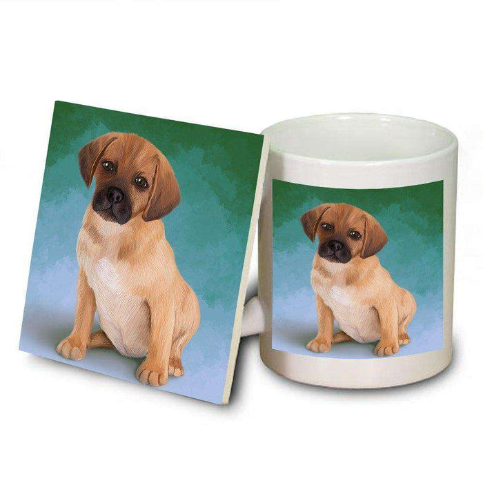 Puggle Puppy Mug and Coaster Set MUC48056