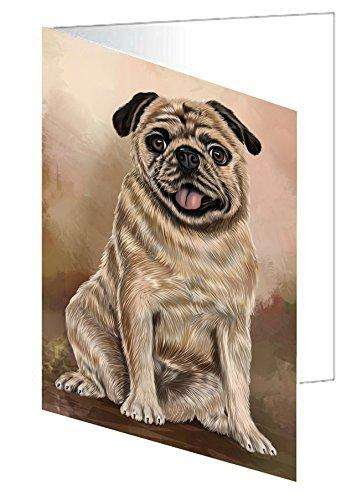 Pugs Dog Note Card