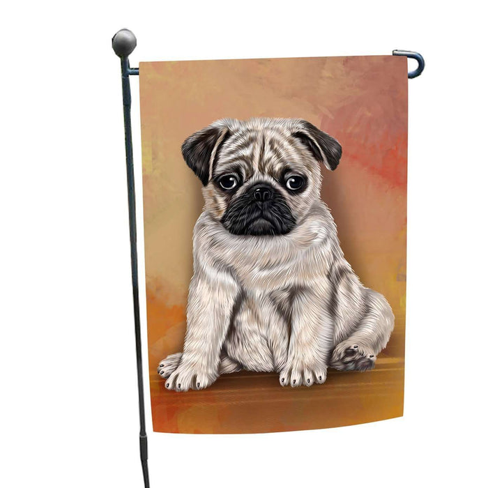 Pugs Puppy Dog Garden Flag