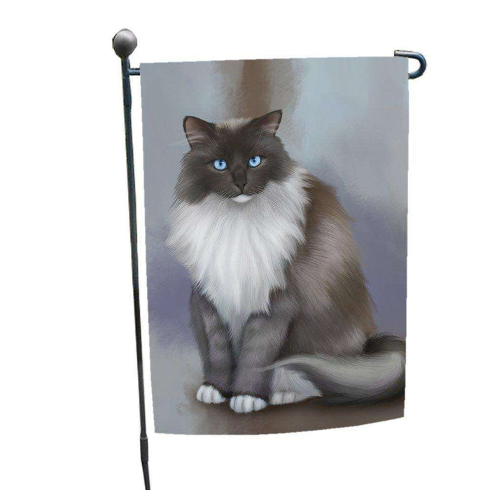 Ragdoll Cat Garden Flag