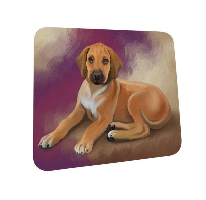 Rhodesian Ridgeback Puppy Coasters Set of 4 CST48044