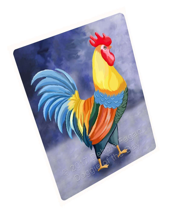 "Rooster Magnet Mini (3.5"" x 2"")"