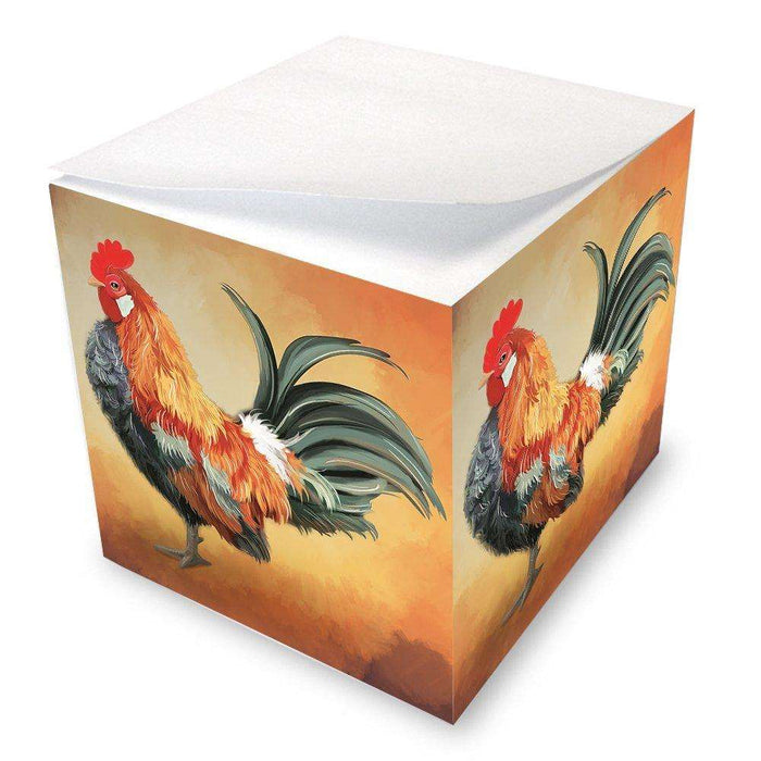 Rooster Note Cube NOC48077