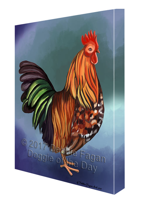 Rooster Canvas Wall Art CVS48693