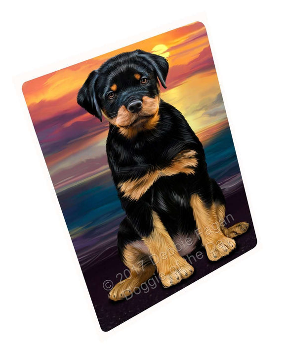 "Rottweiler Dog Magnet Small (5.5"" x 4.25"")"