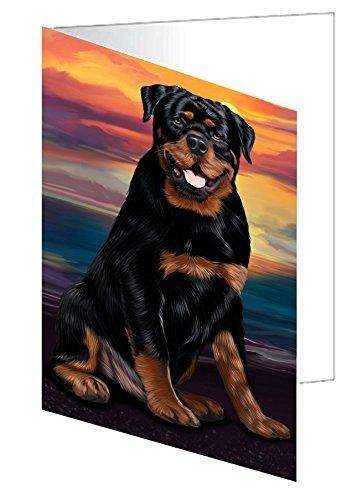 Rottweiler Dog Note Card