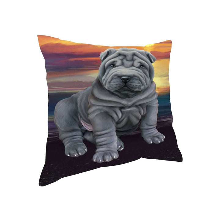 Rottweiler Dog Throw Pillow