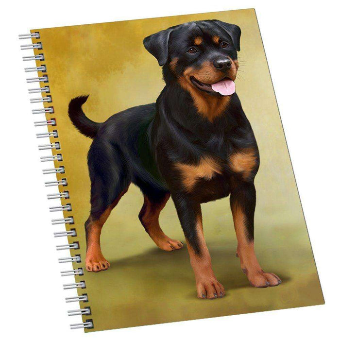 Rottweilers Dog Notebook