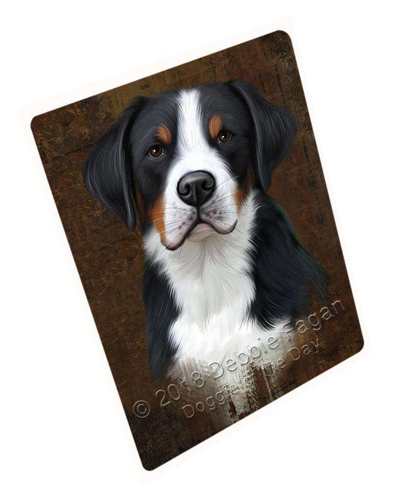 Rustic Greater Swiss Mountain Dog Blanket BLNKT107346