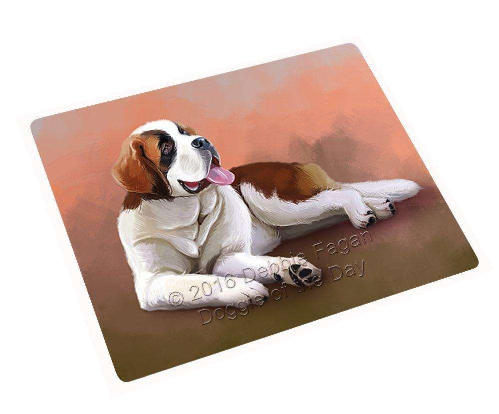 "Saint Bernard Dog Magnet Mini (3.5"" x 2"") MAG48255"
