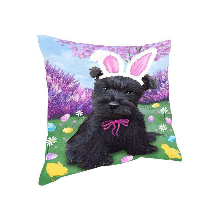 Scottish Terrier Dog Easter Holiday Pillow PIL53400
