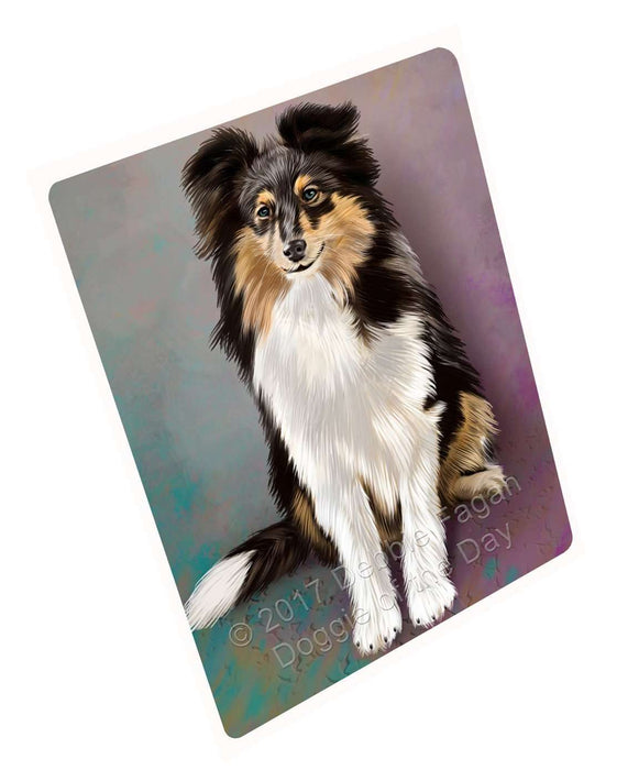 "Shetland Sheepdogs Puppy Dog Magnet Mini (3.5"" x 2"")"