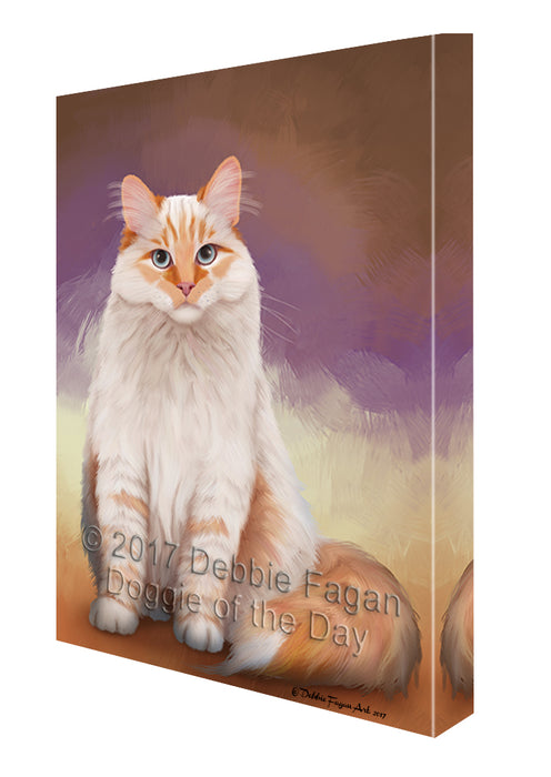 Siberian Cat Canvas Wall Art CVS49080