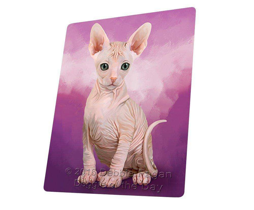 "Sphynx Cat Magnet Mini (3.5"" x 2"") MAG48369"