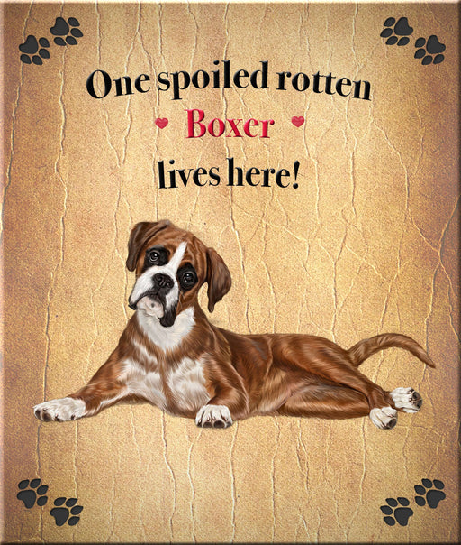 Spoiled Rotten Dog or Cat Refrigerator Mini Magnet Over 100 Breeds Available DNSX