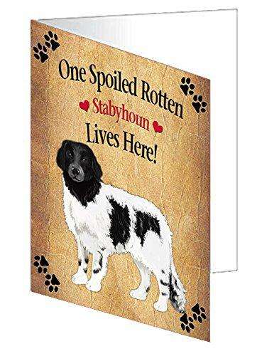 Spoiled Rotten Stabyhoun Dog Note Card