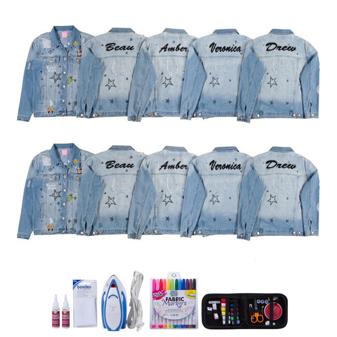 Beaus Babes Jacket DIY Kit Set of 10