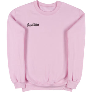 Pink Adult Crewneck Sweatshirt