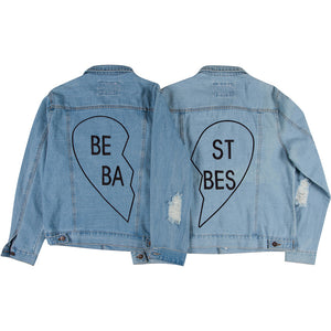 Best Babes Adult Denim Jackets Set