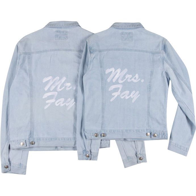 Mr. and Mrs. Jacket Set