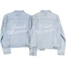 Just Married Denim Jacket Set