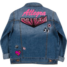 Girls Patch Denim Jacket