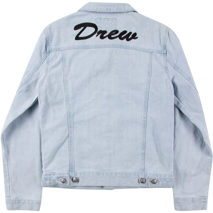 Oversized Light Denim Jacket