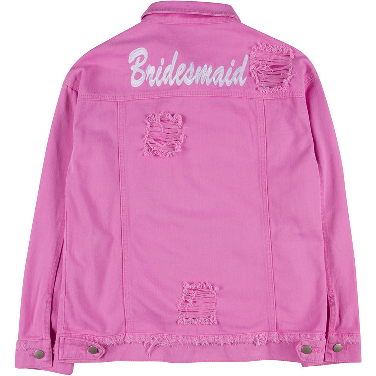 Bridesmaid Denim Jacket