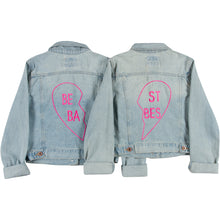 Girls Best Babes BFF Jacket Set