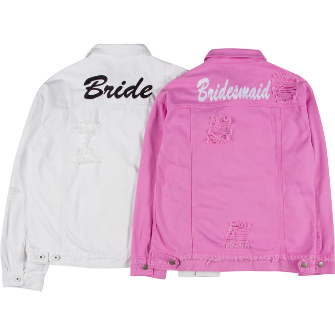Bride & Bridesmaid Denim Jacket