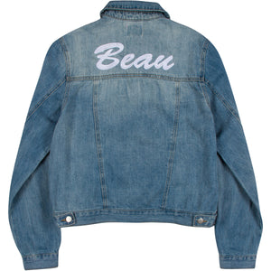 Mid Length Women's Denim Jacket