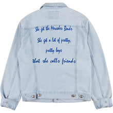 Song Lyric or Custom Saying Embroidered Jacket