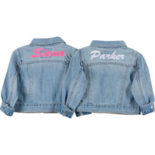 Little Ones BFF Denim Jacket Set