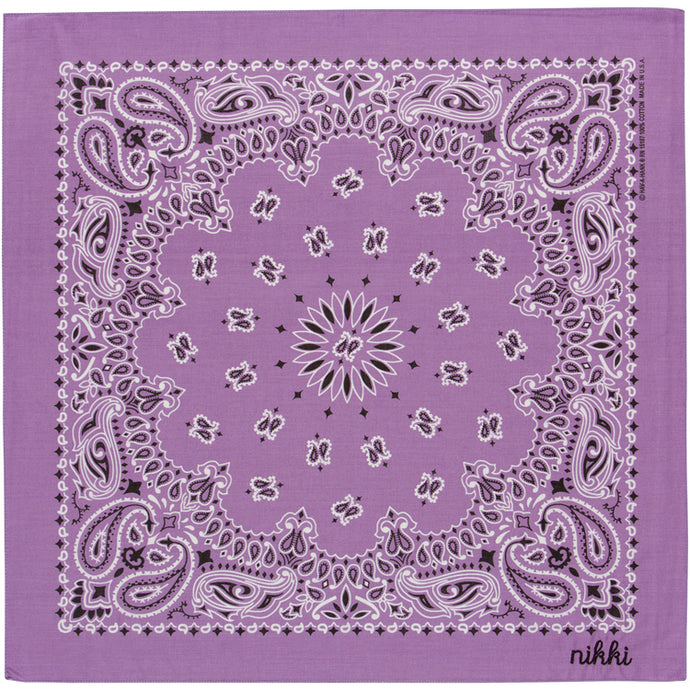 Pastel Purple Bandana