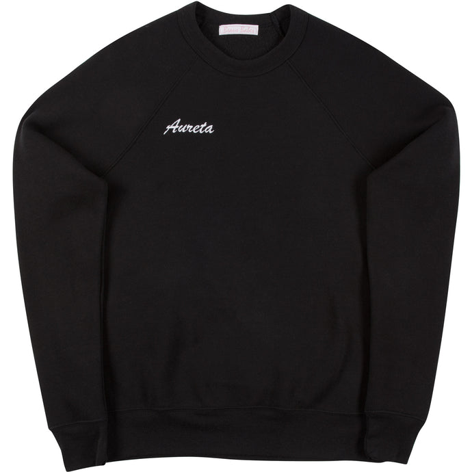 Black Adult Crewneck Sweatshirt