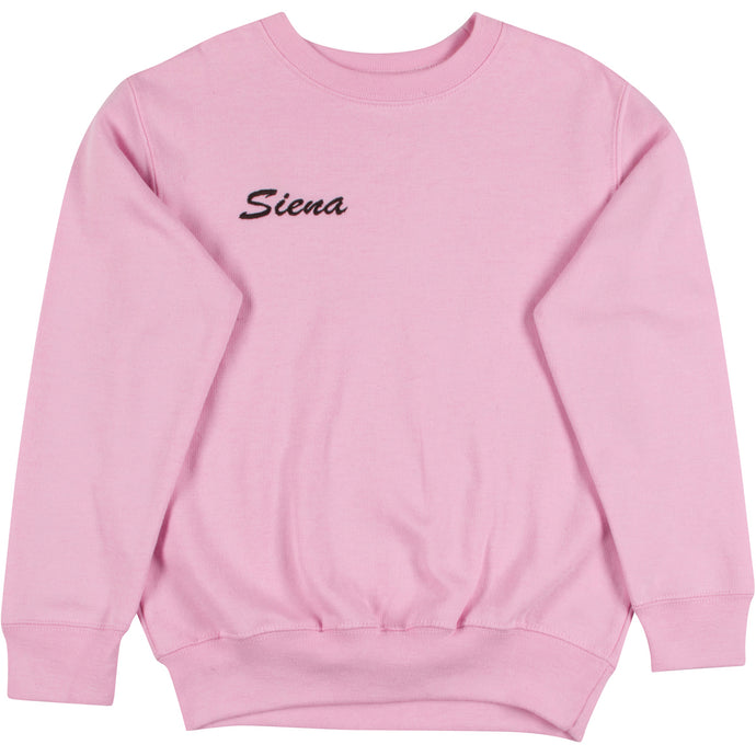 Pink Little One Crewneck Sweatshirt