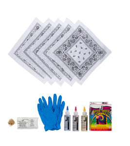 Bandana DIY Tie Dye Kit (Set of 5)