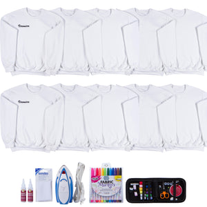 Sweatshirt DIY Kit (Set of 10)