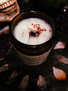 Hex On You Herbal Candle