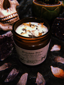Witches Brew Herbal Candle